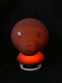 BABYMILO 床頭燈 鐘 藍牙speaker