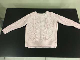 Girl Knitted Winter Top