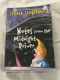 Notes from the Midnight Driver by Jordan Sonnenblick