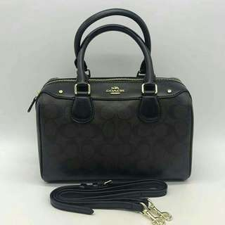 COACH BENNET  BLACK COLOR