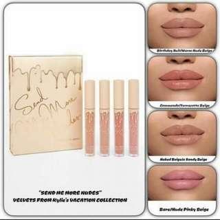 Send Me More Nude Lip cream set