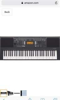 Yamaha PSRE-E343 portable keyboard