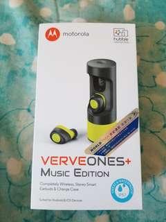 出售99%新 Motorola Verve One+ ME 真無線藍牙耳機