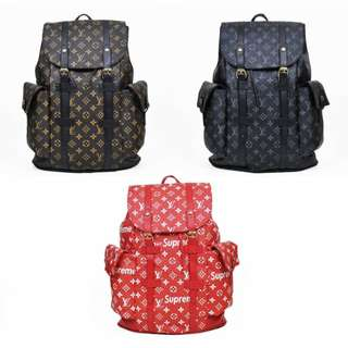 LV Woman Backpack