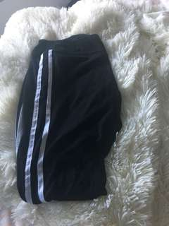 Adidas inspired tights (2 stripes )