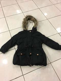 Baby Girl Winter Jacket (Rose Gold Hardware)