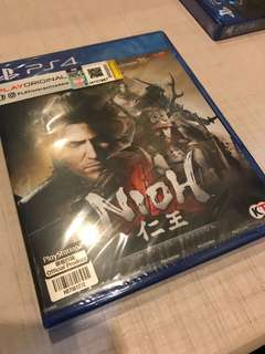 PS4 Nioh Complete Edition (R3)