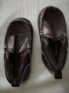 Brand new brown toddler loafers for boys
