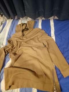 Asos longline streetwear hoodie