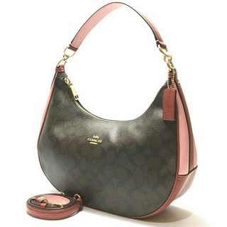 Coach Colorblock Logo East West Harley size 30-32x18x10