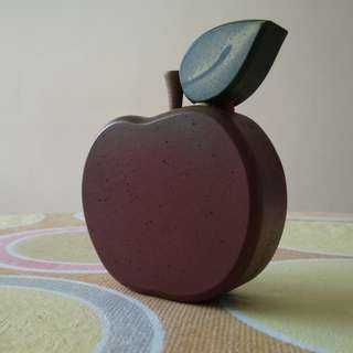 Wooden Apple Shaped Deco Display Decorative