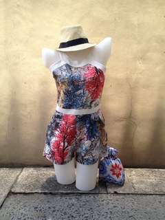 Watercolor Jumpshort/Romper