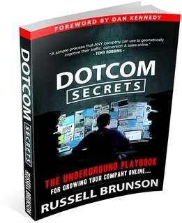 [FREE SHIPPING]DOTCOM Secrets by Russell Brunson