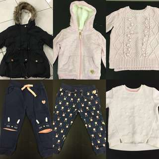 Baby Girl Winter BUNDLE
