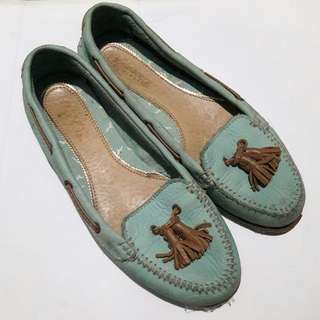 Auth Sperry Topsider Mint Green Shoes