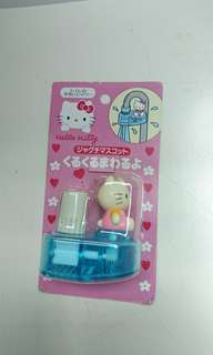 Hello Kitty 手喉頭裝飾 罕有 購自日本