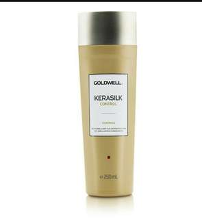 Goldwell Kerasilk Control Shampoo (For Unmanageable, Unruly and Frizzy Hair) 250ml
