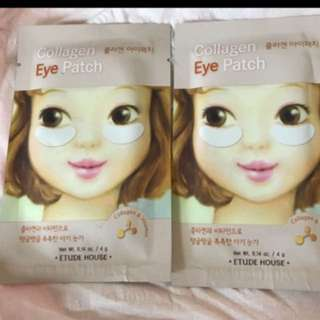 Etude house collagen eye patch x 2 包