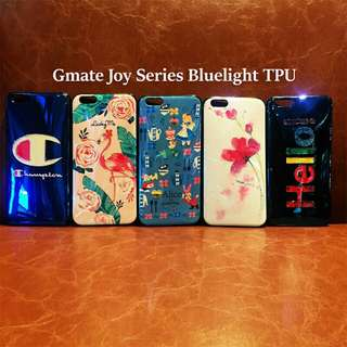 Swan Hello Alice in Wonderland Joy Series Bluelight TPU Case