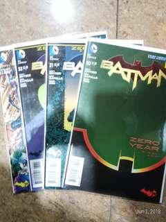 Batman zero year: savage city #30-33