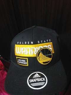 Golden State Warriors Western Conference Finals Adidas Cap
