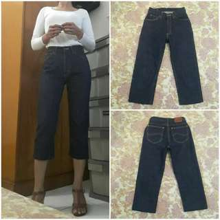 LEE High Waist Cropped Jeans