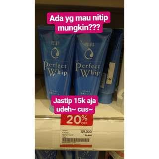 Titip Jual Senka Whip Cream 120 Gram