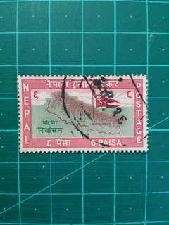 [贈品]1959 尼泊爾 國會大選 舊票一套