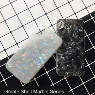 Gmate Colorful Marble Shell Series TPU Case