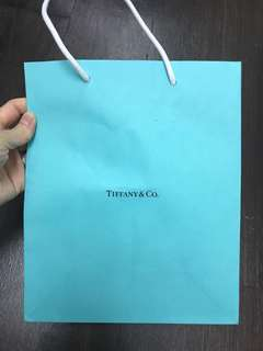 Tiffany paper bag名牌紙袋