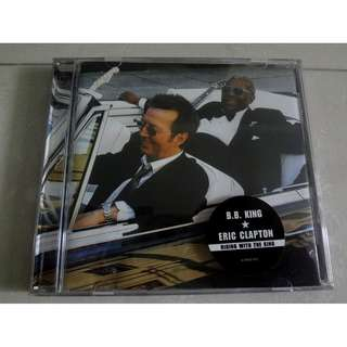 B.B. King & Eric Clapton CD Riding With The King