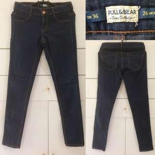 PULL & BEAR jeans / pnb jeans / p&b jeans / blue jeans