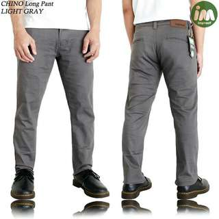 Dark Grey Chino Pants