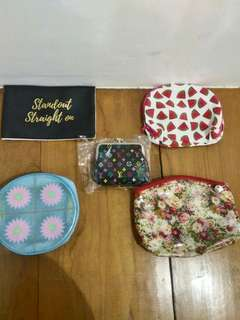 TAKE ALL cosmetic pouches, wallets, purse