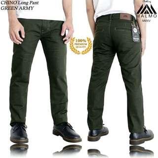 Army&Dark Green Chino pants
