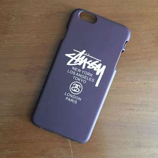 Case iPhone 6 or 6s plus Stussy Maroon