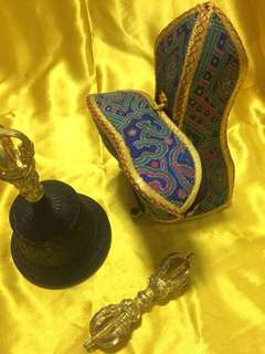 Tibetan Buddhist Bell and Dolje