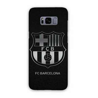 FC Barcelona Black Samsung Galaxy S8 Plus Custom Hard Case