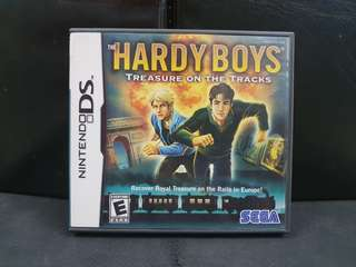 NDS The Hardy Boys: Treasure on the Tracks (Used Game)
