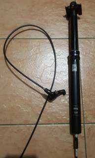 Rock Shox reverb stealth dropper post