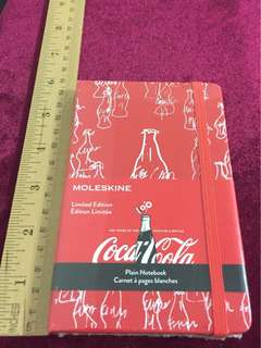 Moleskine: Coca Cola Limited Edition Notebook with Stickers