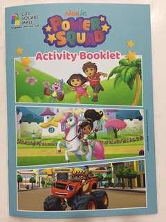 Nickjr Activity booklet