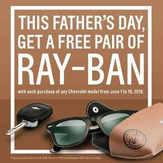 Chevrolet Fathers day Promo