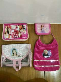 TAKE ALL Barbie bag, wallet, organizer