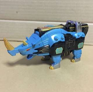 Super Sentai Gaoranger Rhinos Megazord Power Ranger