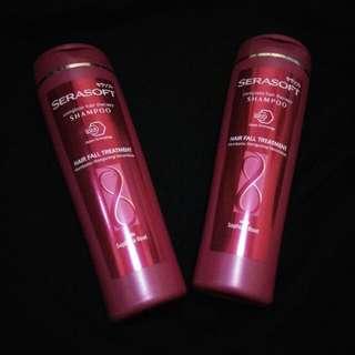 Serasoft shampoo hair fall treatment 170ml 2pcs