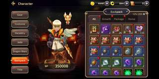 Selling m2 dragon nest account