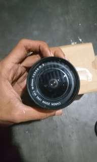lensa kit canon 18-55  mm is ll