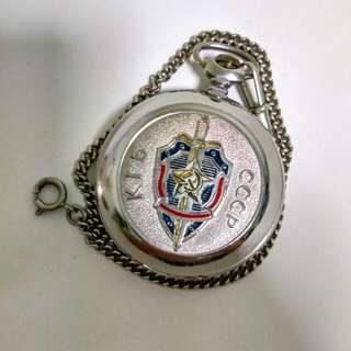 Raketa pocket watch 2603 KGB CCCP Russian