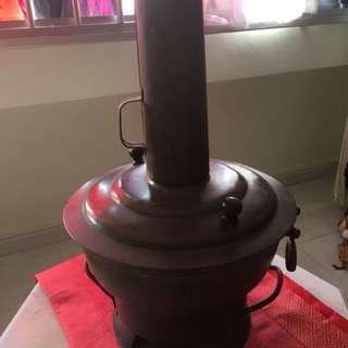 1960's chinese Brass pot/ steamer